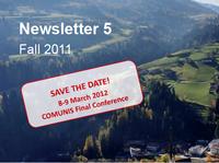 Fifth COMUNIS Newsletter