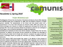 Second COMUNIS newsletter