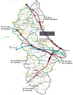Map Area Of Tarare